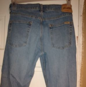 Stretch boot cut Levi Strauss jeans